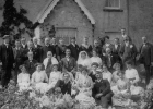 Wedding at Little Larg 1914